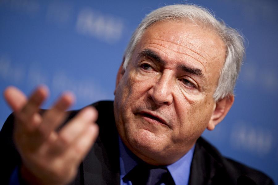 Dyrektor zarządzający MFW Dominique Strauss-Kahn      Fot. Bloomberg