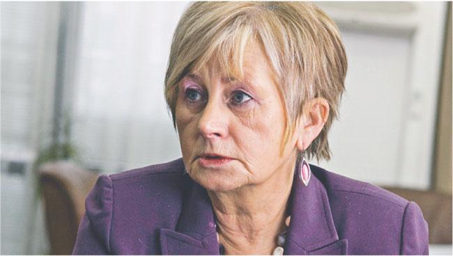 Elżbieta Suchocka-Roguska, – wiceminister finansów, odpowiedzialna za budżet