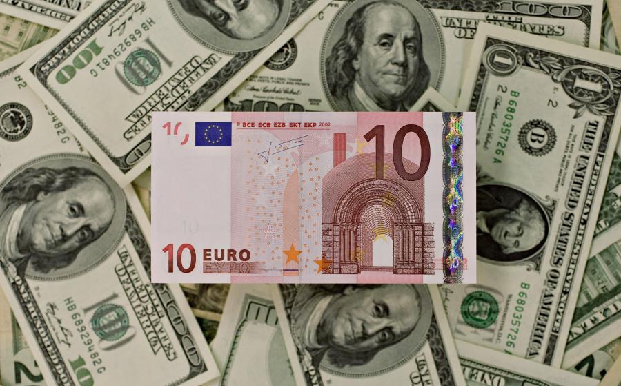 Euro i amerykański dolar