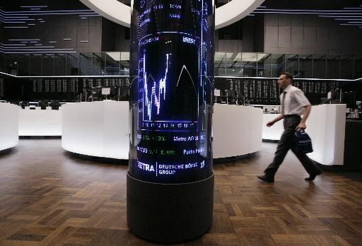W trakcie trwania wtorkowych notowań, europejskie giełdy wspinały się konsekwentnie w górę