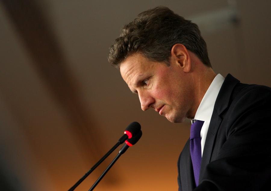 Timothy Geithner, sekretarz skarbu USA