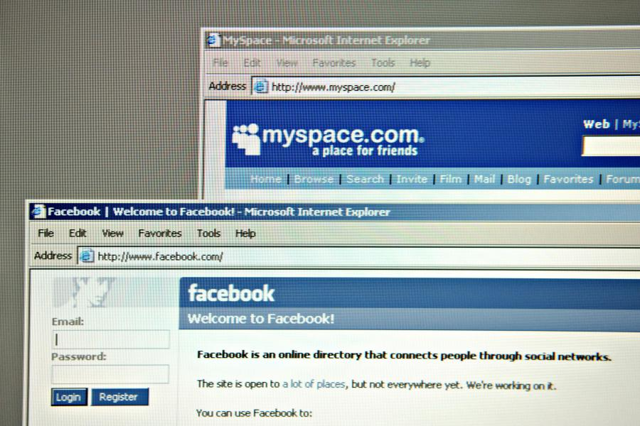 MySpace i Facebook