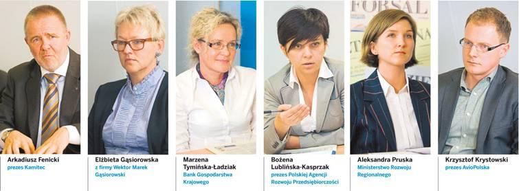 Uczestnicy debaty Dziennika Gazety Prawnej