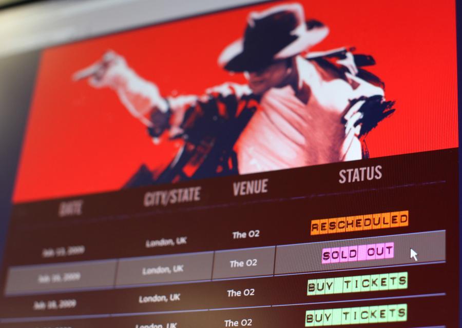 Wszystko co związane z Michaelem Jacksonem wciąż sprzedaje się jak świeże bułeczki
