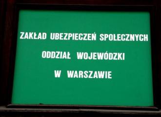 ZUS, oddział wojewódzki w Warszawie
