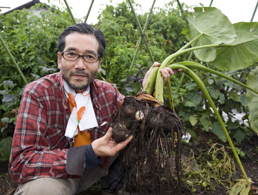 Ganari Takahashi zrezygnował z branży pornograficznej i zainwestował w rolnictwo