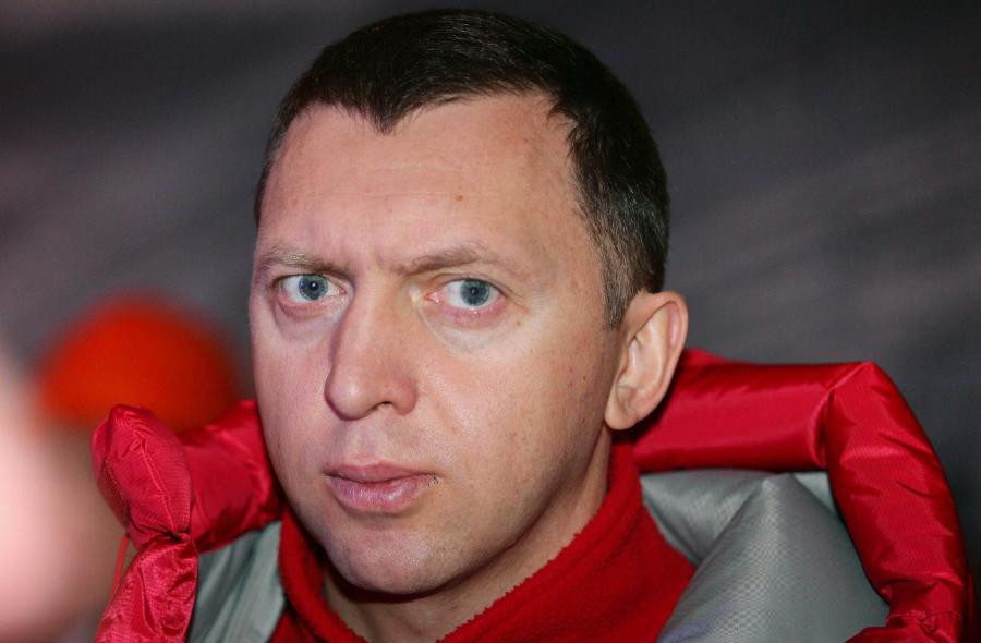 Rosyjski oligarcha, król aluminium Oleg Deripaska