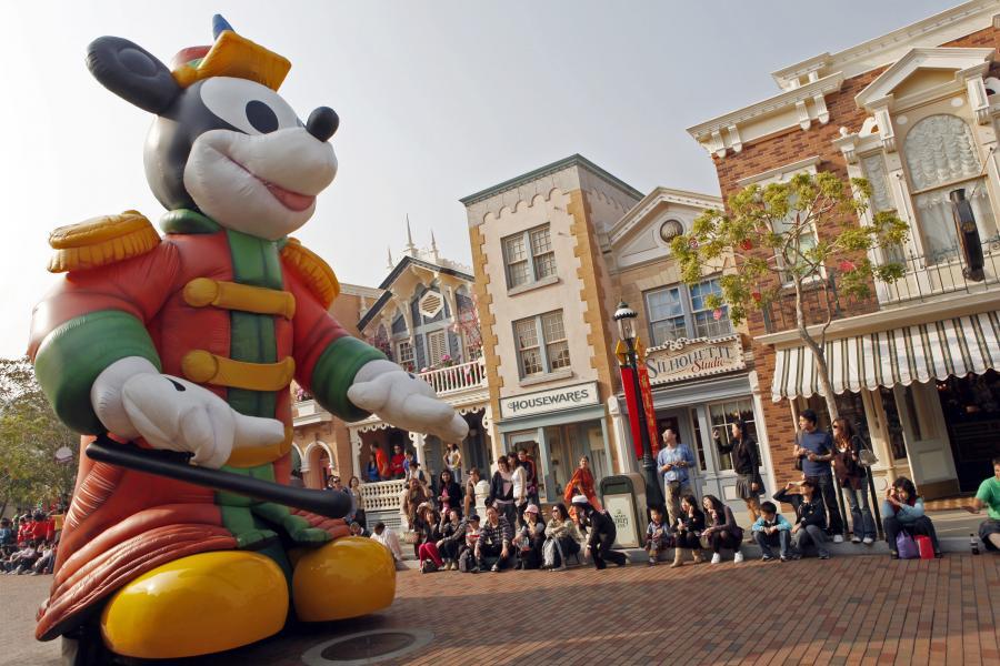 Disneyland w Hongkongu