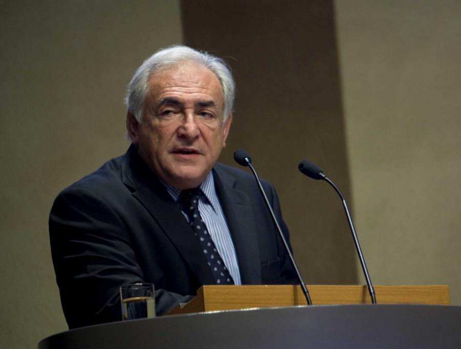 Dominique Strauss-Kahn, dyrektor zarządzający Międzynarodowego Funduszu Walutowego