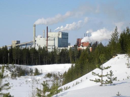 Zakład celulozowo-papierniczy Stora Enso w fińskiej miejscowości Kemijaervi, zamknięto już w zeszłym roku. Fot. Bloomberg