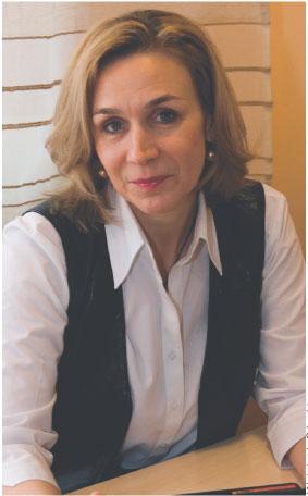 Dorota Bączkowska prezes firmy JPB Doradztwo personalne