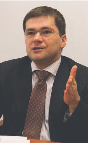 Paweł Chorąży dyrektor Departamentu Zarządzania EFS