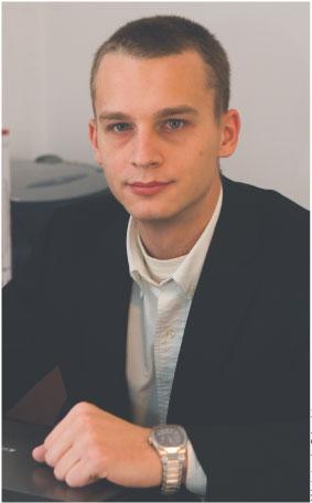 Dariusz Kańtoch właściciel firmy KLS Partners