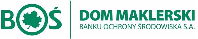 Logo BOŚ