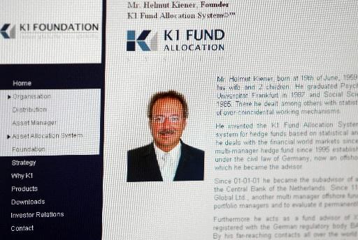Nota biograficzna Helmuta Kienera na stronie internetowej K1 Group. Fot. Bloomberg