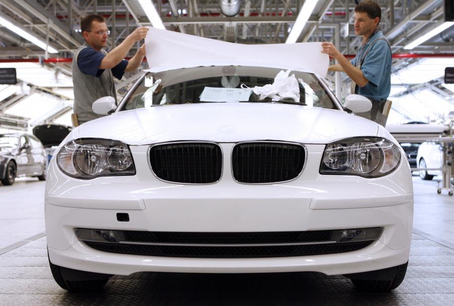 Fabryka BMW w Lipsku.