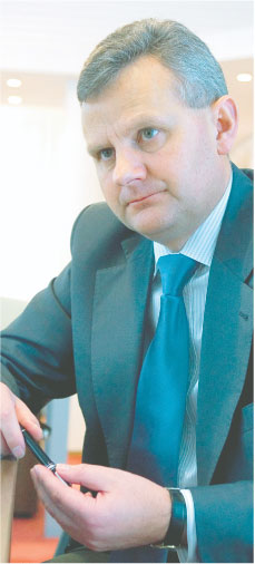 Aleksander Grad, minister Skarbu Państwa Fot. Wojciech Górski
