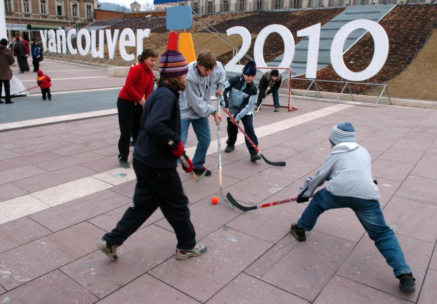 Przygotowania do olimpiady w Vancouver 2010.