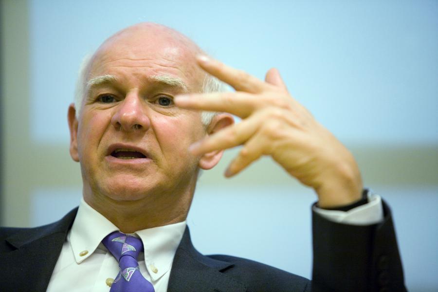 Howard Davies, rektor London School of Economics, były szef brytyjskiego nadzoru finansowego (FSA).