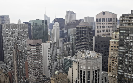 Główną siedzibą funduszy hedgingowych, obok Londynu, jest nowojorska metropolia. Fot. Bloomberg