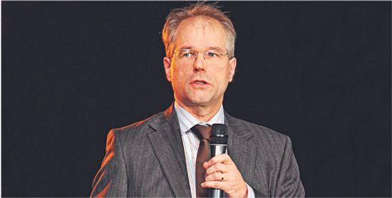 Patrick Moonen, globalny strateg rynku akcji w ING Fot. Xelion