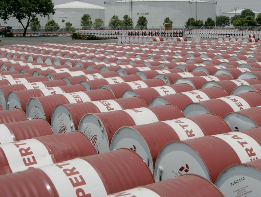 Zapasy ropy naftowej w USA wzrosły w ubiegłym tygodniu o 1,762 mln baryłek.
