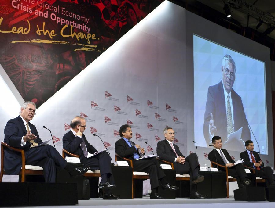 Przywódcy APEC zobowiązali się do utrzymania planów pobudzania swoich gospodarek.