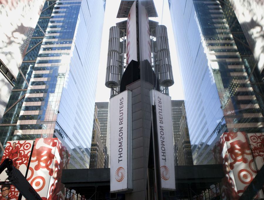 Siedziba Thomson Reuters w Nowym Jorku.