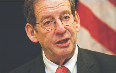 Richard Morningstar, specjalny wysłannik amerykańskiego Departamentu Stanu ds. Energii w regionie Europy i Azji Fot. Wojciech Górski
