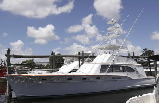 Należący wcześniej do Madoffa jacht Bull poszedł na aukcji za 700 tys. dolarów. Fot. Bloomberg