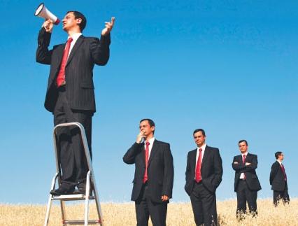Biznesmeni wierzą, że byliby z nich świetni politycy.