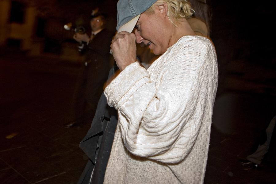 Danielle Chiesi opuszcza sąd federalny 16 października 2009 roku