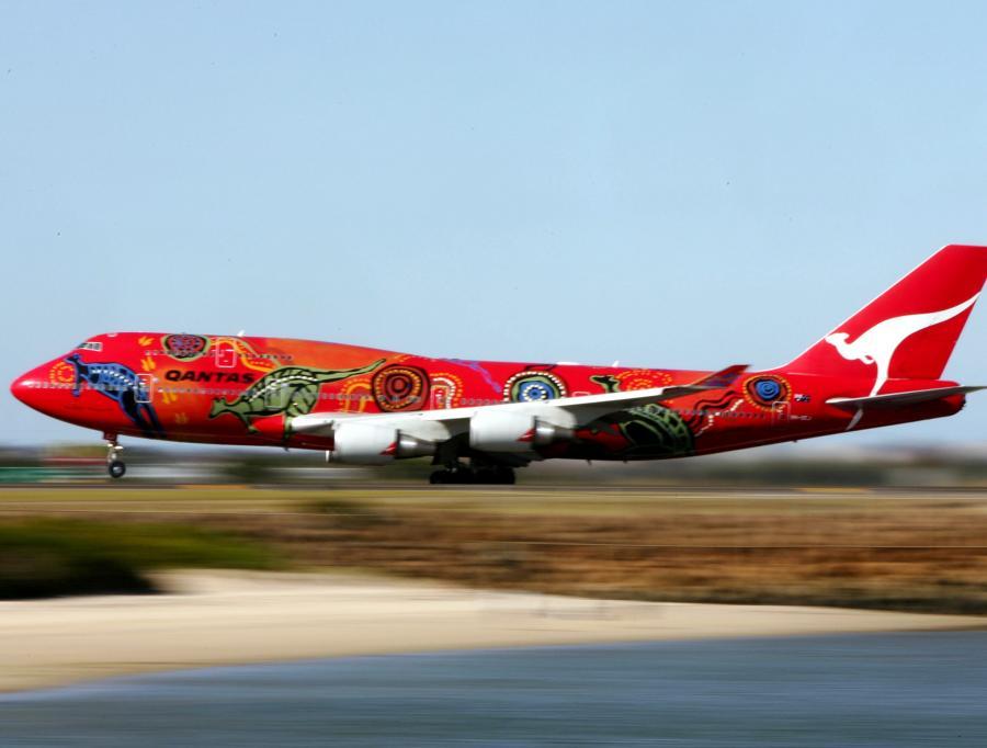Samolot linii Qantas Airways