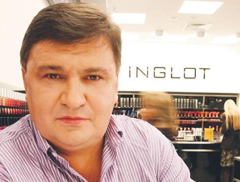 Wojciech Inglot, właściciel firmy kosmetycznej Inglot