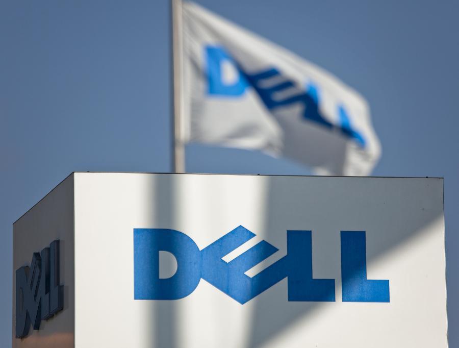 Logo firmy Dell