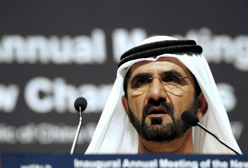 Mohammed Bin Rashid, władca Dubaju i wiceprezydent Zjednoczonych Emiratów Arabskich. Fot. Bloomberg