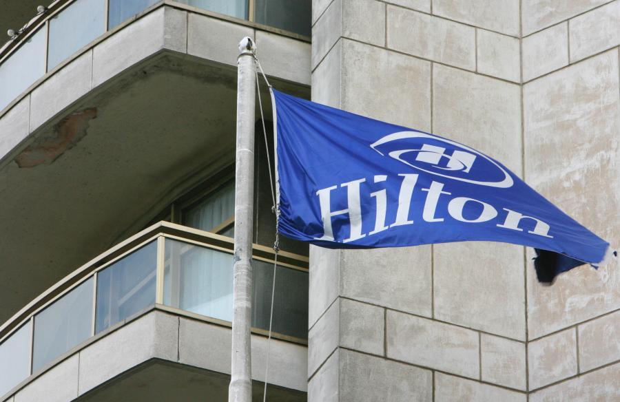 Logo sieci Hilton