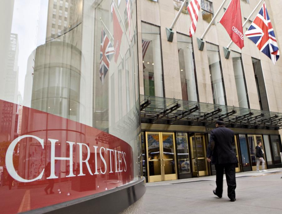 Dom aukcyjny Christie's w Nowym Jorku.