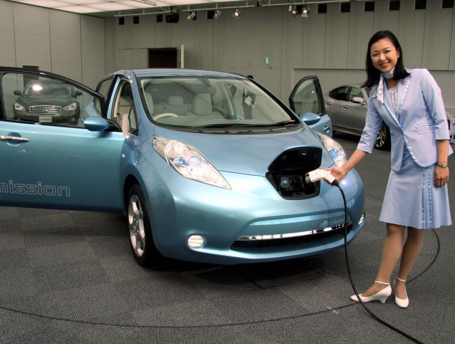 Nissan elektryczny