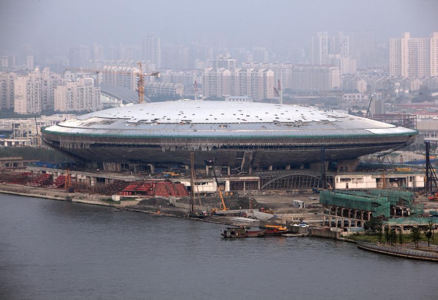Przygotowania do wystawy Expo w Szanghaju