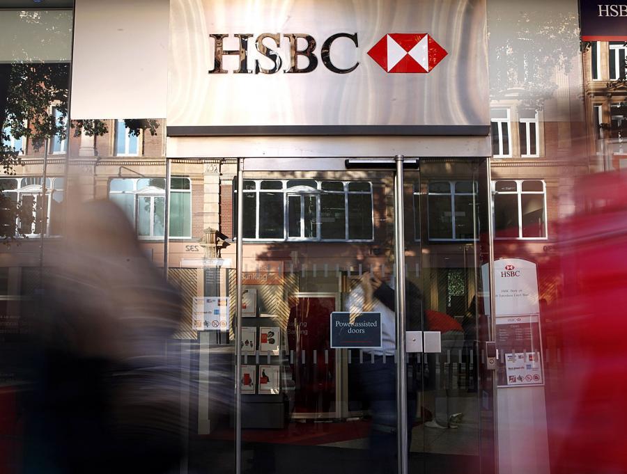 Akcje mniejszościowe stanowią 7,2 proc. kapitału materialnego HSBC