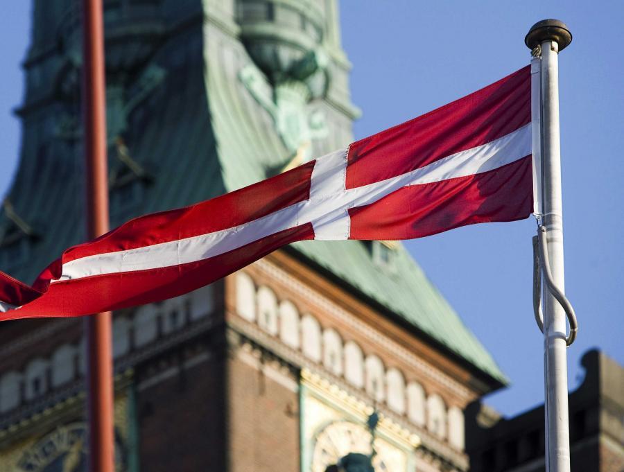 Flaga Danii, Kopenhaga