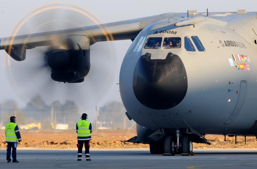 Airbus A400M, fot.PAP/DPA