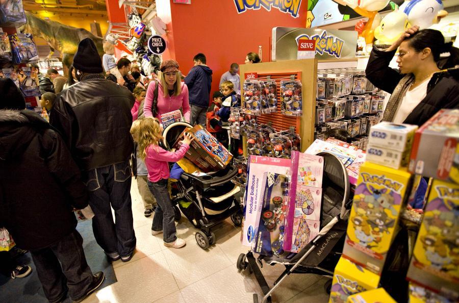 Zakupy dla najmłodszych