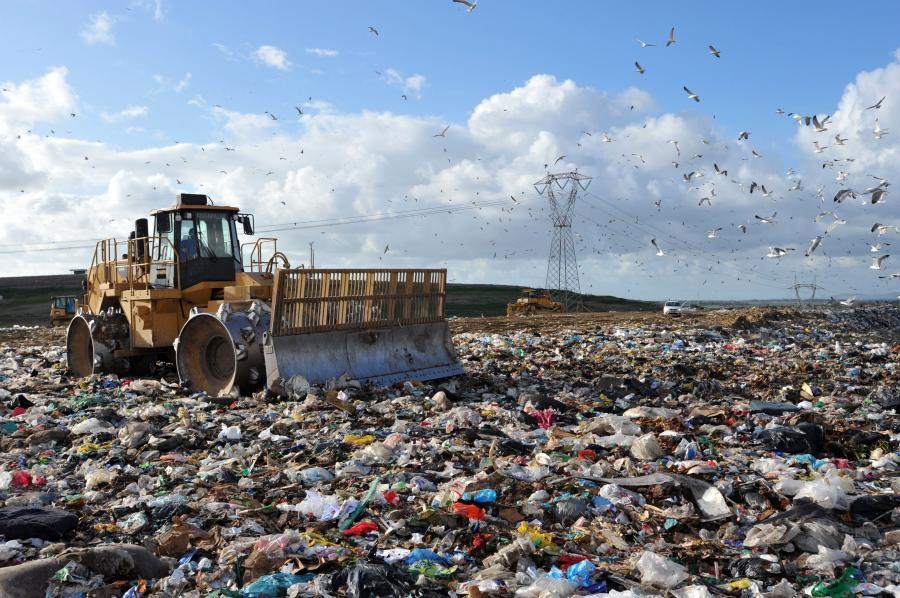 Wysypisko śmieci we Włoszech