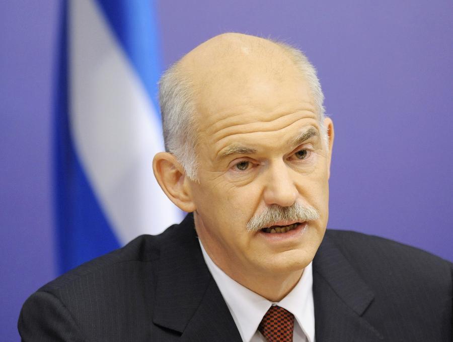 Grecki premier Georgios Papandreu