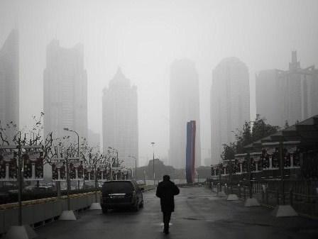 Wieżowce w Szanghaju