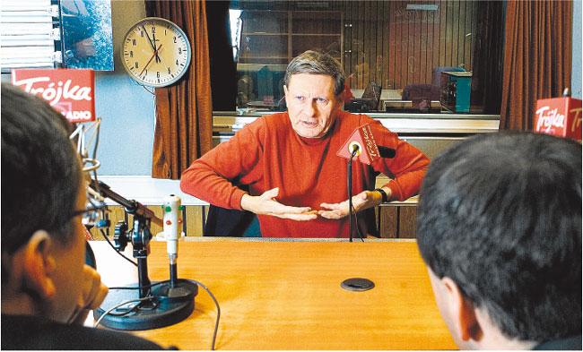 Leszek Balcerowicz, ekonomista, były wicepremier i minister finansów, były prezes NBP Wojciech Górski