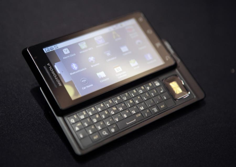 Motorola z systemem operacyjnym Android