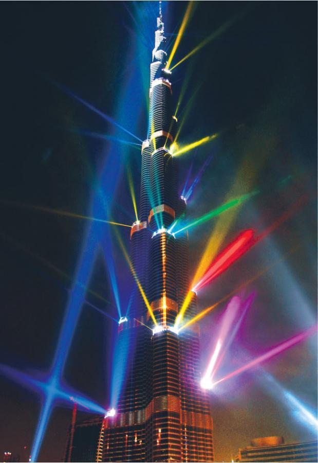 Najwyższy budynek świata, Burdż Dubaj Bloomberg